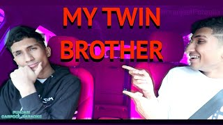 PUNJABI CARPOOL KARAOKE WITH MY TWIN BROTHER | Simranjeet Patwalia
