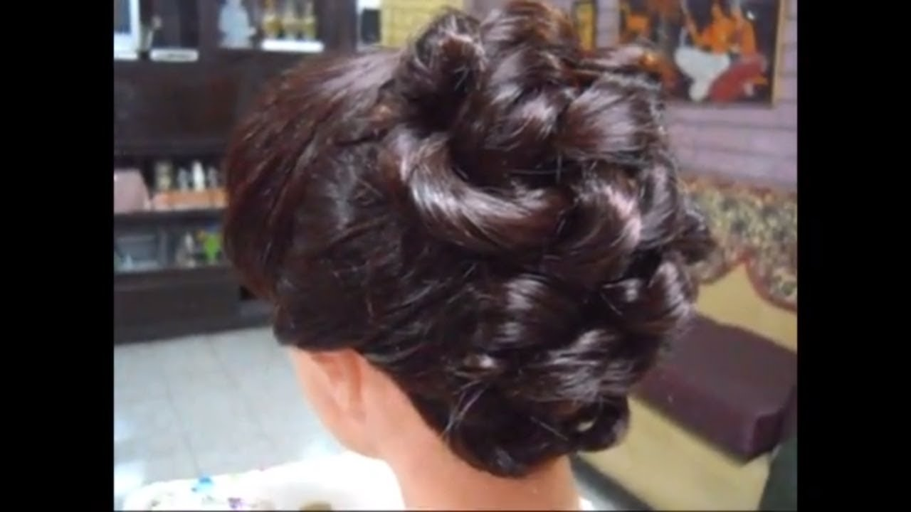 A Simple Easy And Elegant Party Hairstyle For Long And Medium Hair