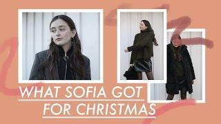 What Sofia Got For Christmas