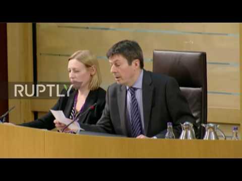 UK: Scottish Parliament backs second independence referendum