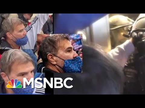 FBI Releases New Videos Of Assaults On Officers During Capitol Riot   Craig Melvin   MSNBC