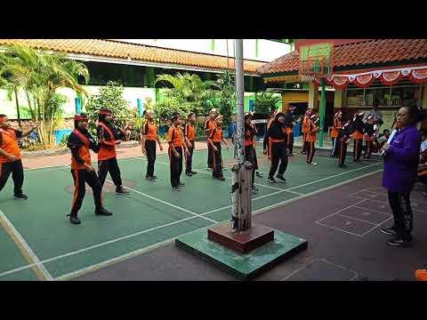 Senam Asian Games SDN 01 Lenteng Agung Kelas 5 A Part 2