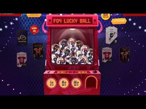 FIFA Online 4 | LUCKY BALL kèo mở thẻ cực THƠM