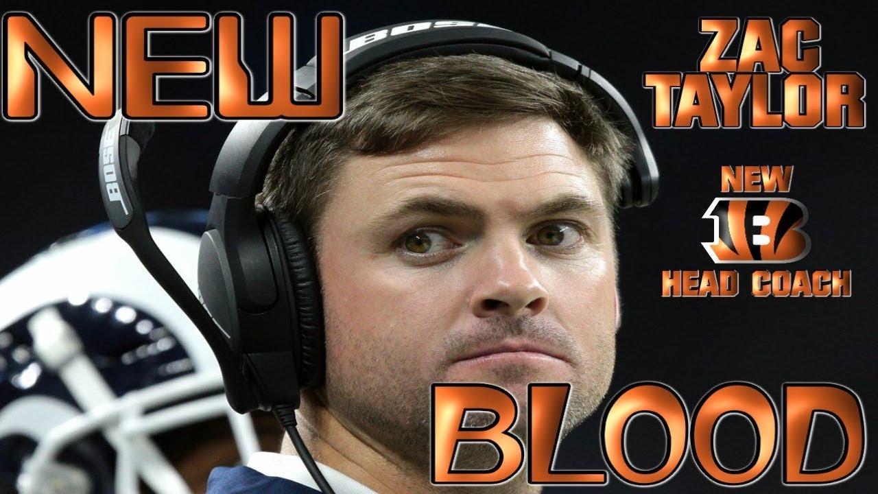 6dc9e32d5b3b8 Cincinnati Bengals Hire Ex-Rams QB Coach Zac Taylor as Next Head Coach  NEW  BLOOD 🏈🏈🏈