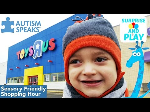 Toys R Us Sensory Friendly Shopping Hour for Autism Awareness Day