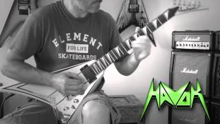 Havok - Living Nightmare Guitar Cover