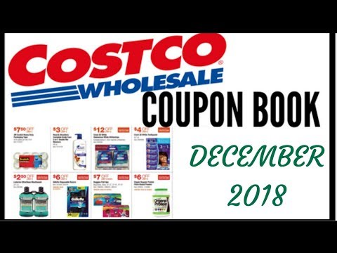 💵 DECEMBER 2018 COSTCO COUPON BOOK ● COSTCO MEMBER ONLY SAVINGS DEALS 2018 ● 11/27/18 to 12/24/18