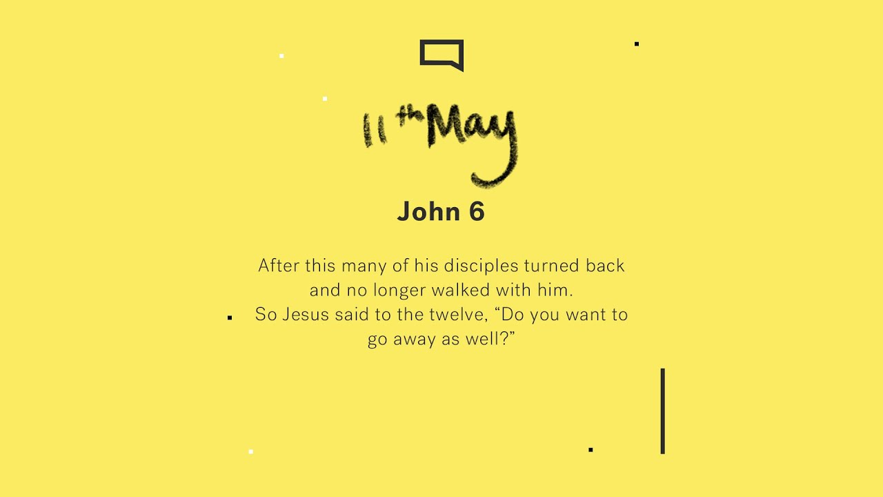 Daily Devotion with Yohaan Philip // John 6 Cover Image