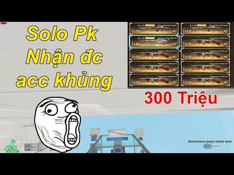 Thử Thách Parkour : Solo Pk Nhận Acc Khủng Hơn 300 Triệu