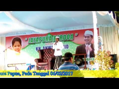 Asli 100% Ngakak Pengajian KH Anwar Zahid Di Sentani Jayapura Papua