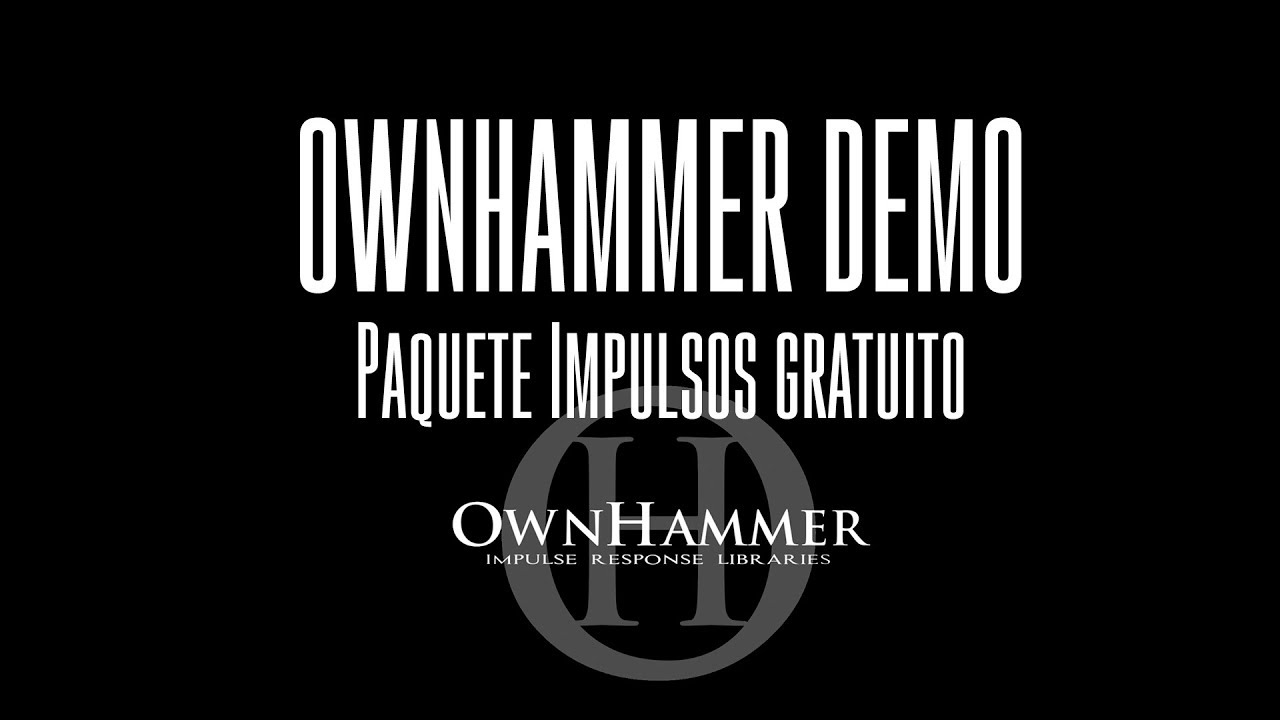 OWNHAMMER FREE MESA 4x12 PACK DEMO - Tono guitarra 8 cuerdas