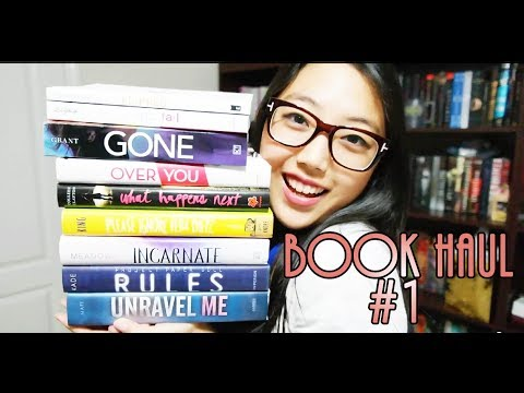 BOOK HAUL 1 | I JUST DISCOVERED BOOKOUTLET