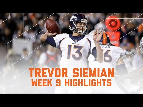 Trevor Siemian