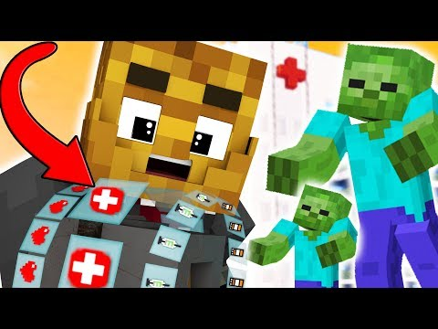HOSPITAL MEDICAL SUPPLIES! - MINECRAFT FEAR THE CRAFTING DEAD #3