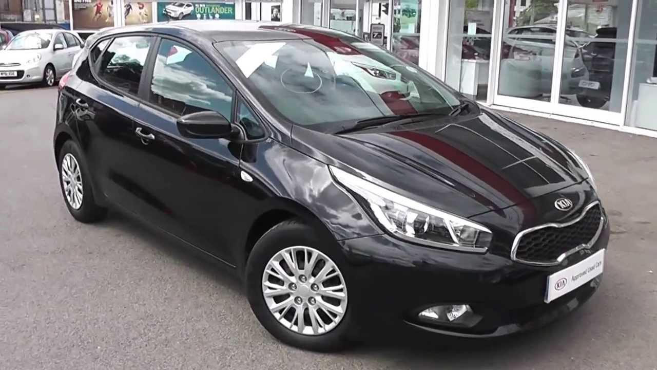 Kia Approved Used Car Kia Ceed 1 Eco Black Ld62ejv