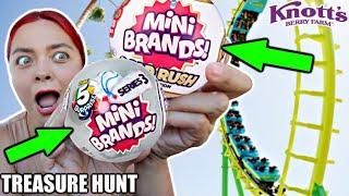 Mini Brands Treasure Hunt at Knott's Berry Farm