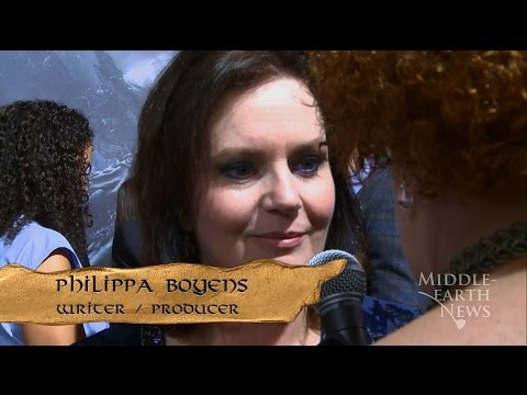 Middleearth  on the Red Carpet with Philippa Boyens