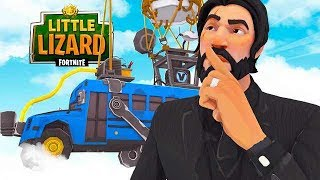 Les SECRETS DANS le FORTNITE BATTLE BUS!