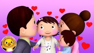 Valentines Special   Nursery Rhymes & Kids Songs!   Baby Songs   Little Baby Animals