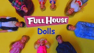 Full House Dolls from 1993, Toy Review, including Danny & Jesse's families & Joey