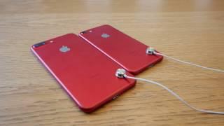 Itt a piros Apple iPhone 7 - Minden oldalról