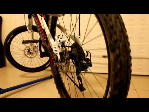 How to straighten a disk brake rotor