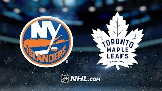 Matthews, Maple Leafs defeat the Islanders, 7-1