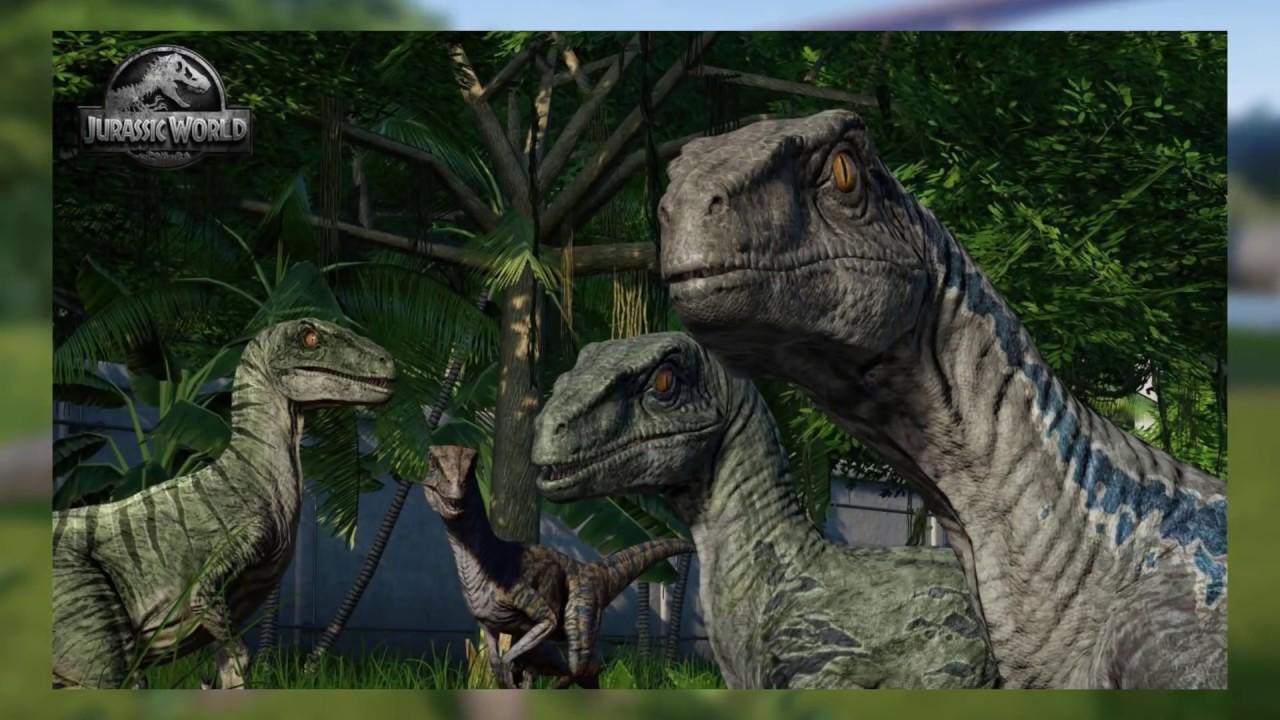 blue s raptor squad coming to jurassic world evolution jurassic
