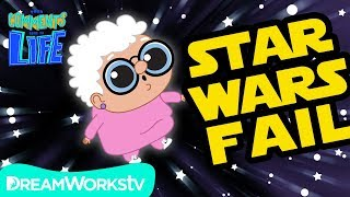 Granny Watches STAR WARS: THE LAST JEDI Fail! | YOUR COMMENTS COME TO LIFE