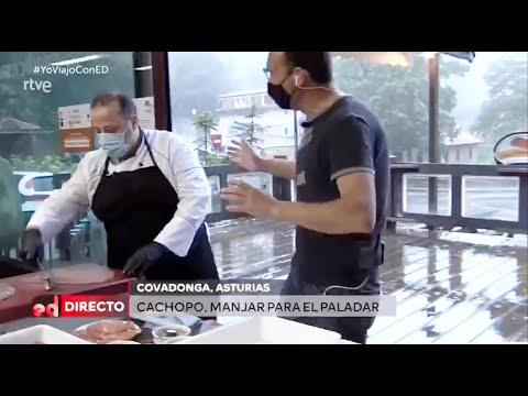 El cachopo del Merendero de Covadonga en España Directo de TVE