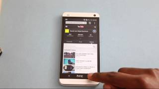 How To Take Screenshot HTC ONE