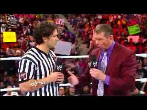 DDP entrance RAW and interrupts Vince McMahon Jr.