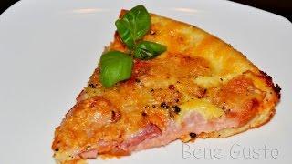 Быстрая Пицца на сковороде или в духовке | Простая в приготовлении ПИЦЦА за 10 минут