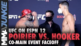 Mike Perry Vs. Mickey Gall Pre-fight Faceoff   UFC On ESPN 12