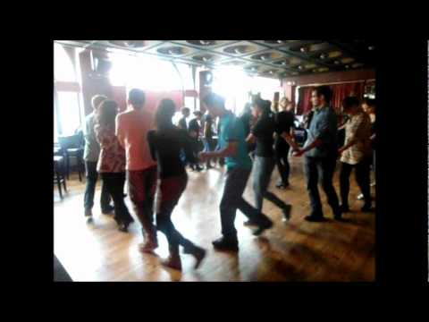 Dublin school of english`s student in Irish`s dance.