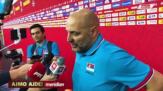 Saša Đorđević posle Argentine - prva izjava