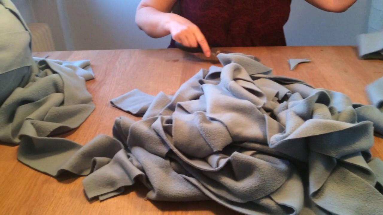 A/S Villy Jensen - armstrik et tæppe i vlies