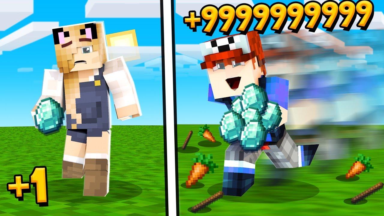Minecraft Ale Jak Masz Więcej ITEMÓW To Biegasz Szybciej (Kto Będzie Szybszy?)   Vito vs Bella