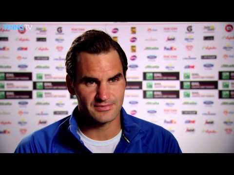Rome 2015 Wednesday Interview Federer