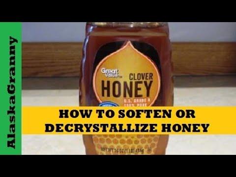 How To Decrystallize Honey - YouTube