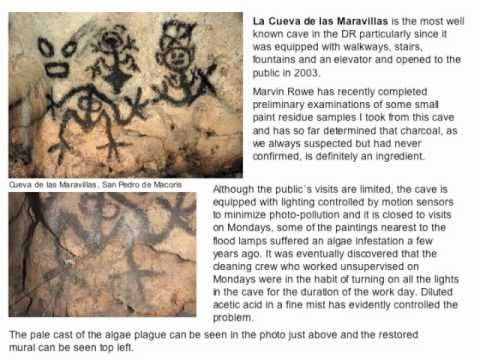 Taíno Rock Art of the Dominican Republic-- Part 3 Pictographs