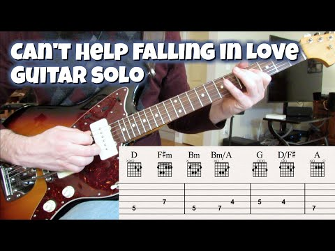 Can't Help Falling In Love (Guitar Solo)