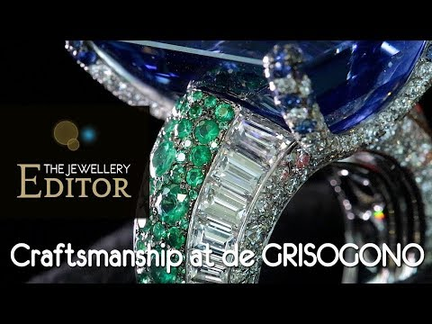 Harry Winston Collection - de GRISOGONO  the craft behind the wildest jewels in Cannes