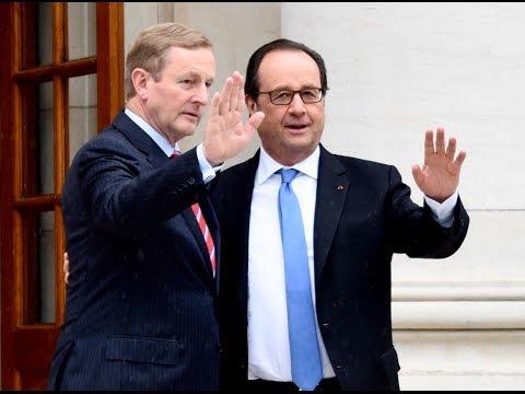 President François Hollande visits Ireland