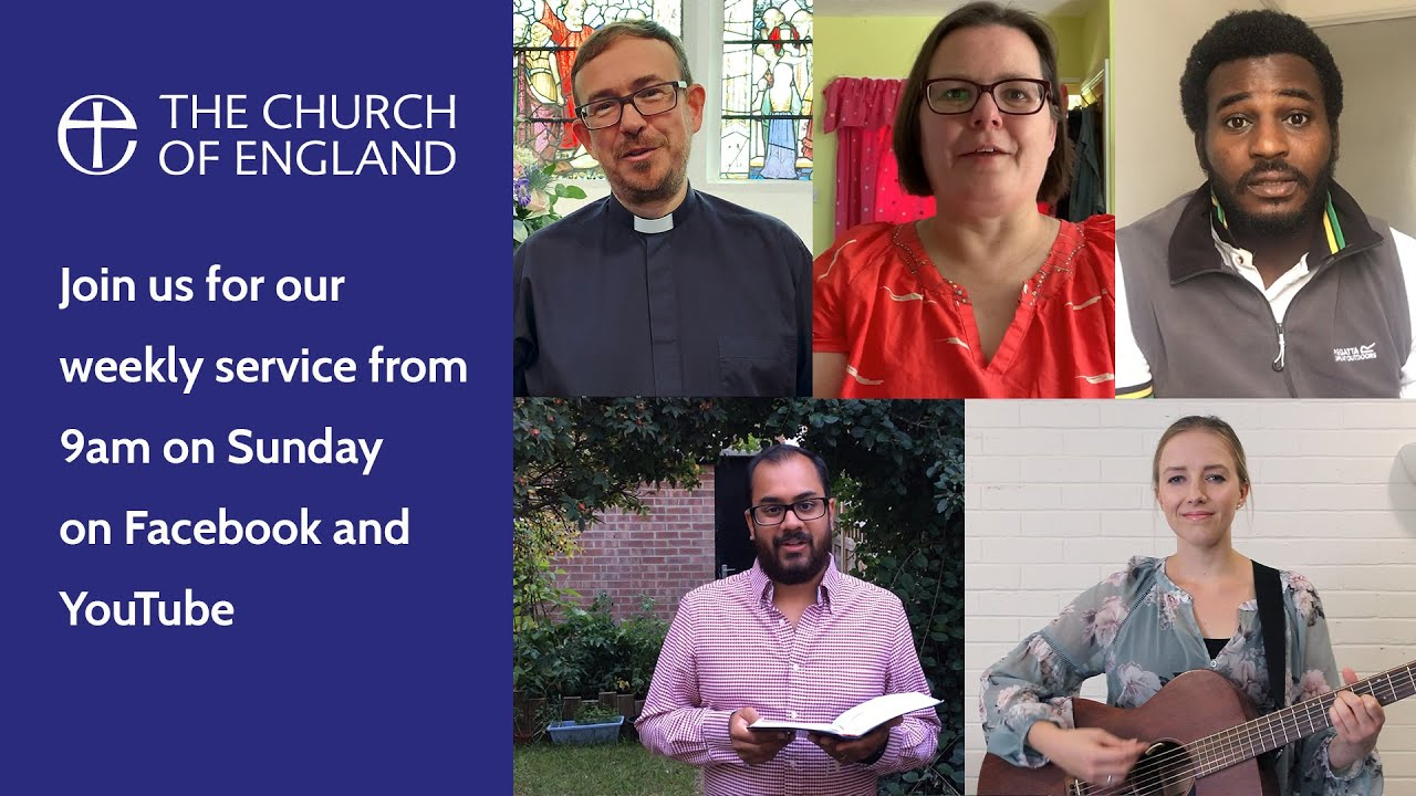 Weekly Online Service from Christ Church, Cambridge