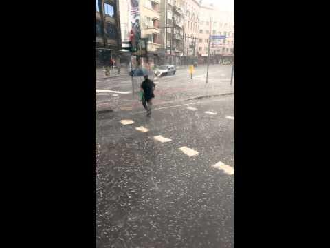 Градушка в София - бул. В.Левски и ул. Граф Игнатиев - ново видео