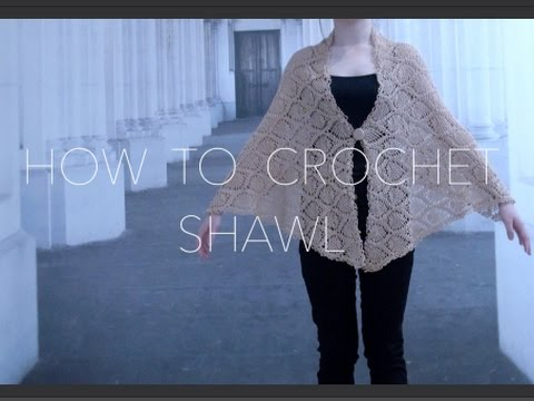 How To Crochet Shawl Pineapple Pattern Part 1 Of 2 Youtube