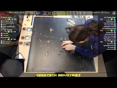 Flying Casual at Gauntlet Games - 2017-09-27 - Rookie Ace vs Darth Otaku