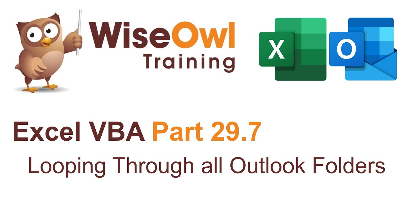 VBA - working with Outlook videos | Excel VBA Part 29 7