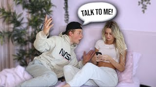 Ignoring My Boyfriend For 24 Hours..